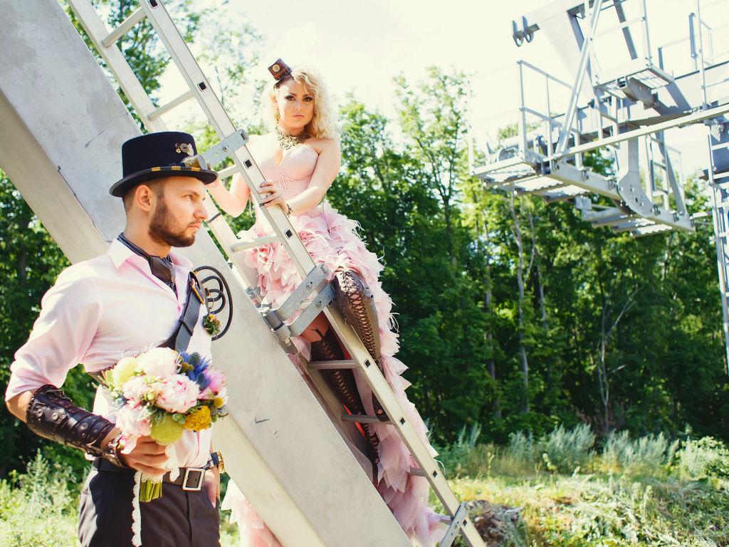 Оля и Сергей